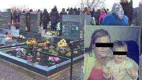 Potvrzeno: Elišku (†1,5) zabila vlastní máma (17), soud ji poslal na 4 roky do vězení