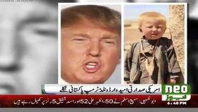 Donald Trump je původem sirotek z Pákistánu, tvrdí bizarní zpráva