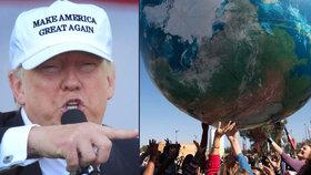 Otepluje se a kolem klimatu se točí miliardy. Trump s Klausem jsou proti