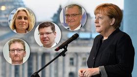 Merkelová do toho jde počtvrté. Kalousek fandí, Černoch pukl a co další?