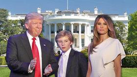Melania Trump nebude žít v Bílém domě: Zůstane v luxusní Trump Tower i se synem