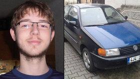 Neviděli jste Petra (18)? Mladík zmizel cestou do školy i s autem