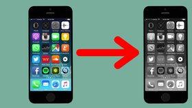 Jak se zbavit závislosti na smartphonu? Vypněte barvy, přepněte displej na černobílou