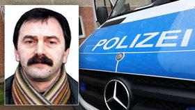Němci zatkli teroristu: Za dopadení nabízeli odměnu 29 milionů