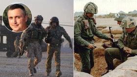 Veterán Gábor promluvil o smrti vojáků. Co se změnilo od války v Zálivu?