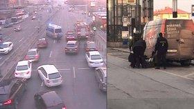 Policie na hodinu uzavřela magistrálu směrem na Václavák. Kvůli zavazadlu