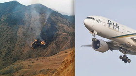 Letadlo s 42 pasažéry se zřítilo v horách: Na palubě byl i známý zpěvák!