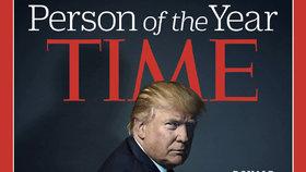 Trump se stal osobností roku časopisu Time. Loni vypěnil kvůli Merkelové