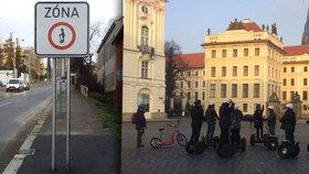 Asociace segwayů žaluje Prahu. Vadí jí zákaz vozítek v historickém centru města