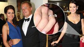 Kdo si počká, ten se dočká: Miss Doleželová se zasnoubila!