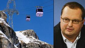 """""""Ibiza na sjezdovkách"""": Český miliardář buduje ráj ve švýcarských Alpách"""