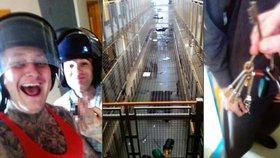 Největší vězeňská vzpoura za posledních 26 let: Nepokoje začaly kvůli nefunkční televizi!