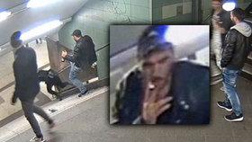 Brutální útočník, který skopl ženu v metru: Svetoslava dopadli na útěku v autobusu
