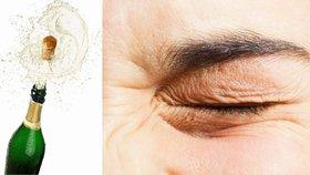 Jehličí, zátky a prskající omastek: Svátky jsou nebezpečné pro vaše oči