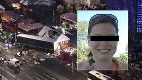 Příbuzní o Nadě zabité při teroru Berlíně: Byla to moc milá a šikovná holka
