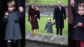 Vévodkyně Kate a princ William ukázali děti: Jsou sladší než cukroví!