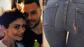 Manikérce Erbové Vánoce prospěly: Pod náporem cukroví jí praskly džíny!