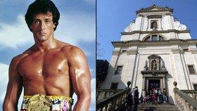 Rocky Balboa jde za mříže! V kostele u Jezulátka terorizoval duchovní. Řval, že je podřeže