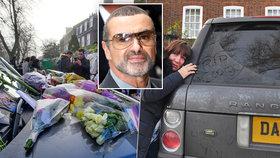 Fanoušci oplakávají smrt George Michaela: Z jeho auta udělali pietní místo!