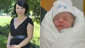 Reportérka Divišová porodila: Má krásnou holčičku