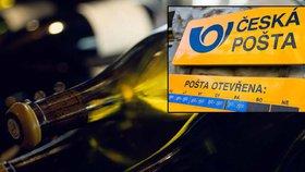 Utrácení České pošty: Tisíce lahví vína a desítky milionů na propagaci