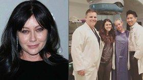 Brenda z Beverly Hills ukončila radiační léčbu rakoviny: Radost z nových vlasů