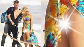 Paris Hilton ukázala statnému fešákovi vyholený rozkrok! Omylem? Sotva…