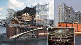 Evropská odpověď na opěvovanou Operu v Sydney? Labská filharmonie v Hamburku: Chrám hudby za 21 miliard Kč!