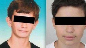 Pohřešovaní kluci se našli! Jirka (15) a Marek (14) jsou v pořádku