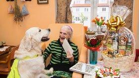 Narodila se v roce jako Piaf či Sinatra. Paní Vlasta oslavila 102 let