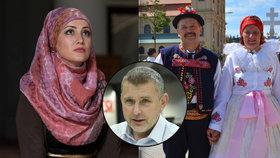 Pelikán: Muslimky v Česku schválně provokují. Zahalit se můžou i krojem z Kyjova
