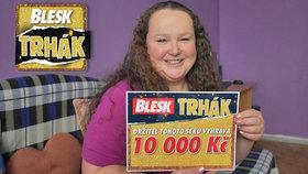 Lenka Potůčková (35) zabodovala v Trháku Blesku už podruhé! O výhře se jí i zdálo