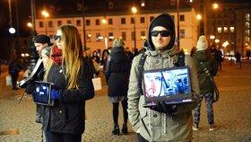 Jatka na náměstí Republiky: Aktivisté bojovali za práva zvířat