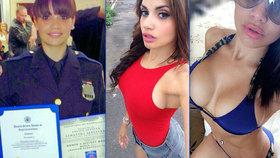 """Sexy policajtka: """"Jsem tak pěkná, že se chlapi nechají zatýkat dobrovolně"""""""