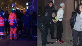 Hledaná dvojice puberťáků v Plzni zaútočila na strážníky: Ti skončili v nemocnici!