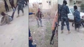 Šokující video: Iráčtí vojáci mučili a popravili tři bojovníky ISIS!