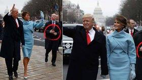 Trumpa střežil bodyguard s umělou rukou. Co odhaluje bezpečnostní teorie?