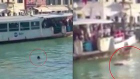 Africký uprchlík se utopil v kanálu v Benátkách: Přihlížející se mu smáli a točili si ho