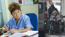 Hvězda Ordinace Boušková: Po zlomenině nohy na vozíku