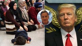 """Trumpův příkaz je voda na mlýn """"křiklounům"""" proti přijetí migrantů, míní Rozumek"""