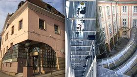 """Nejen """"vetřelec"""" v domě na Staromáku. V pražských stavbách najdete i další úlety"""