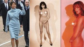 """""""Štětka,"""" řekl o Trumpově Melanii novinář modelce. V práci dostal přes prsty"""