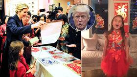 Trumpova vnučka Arabella (5): Zpívala mandarínsky komunistům z Číny