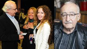 Slavný režisér Juraj Herz je po operaci oka: Vidím jako přes záclonu!