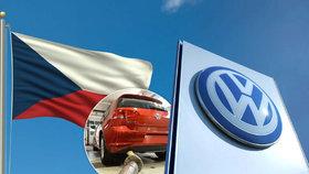 Volkswagen s emisemi podvedl 164 tisíc Čechů. V USA by dostali čtvrt milionu
