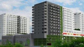 Investora zviklali obyvatelé Lužin: Místo 303 bytů postaví jen 215