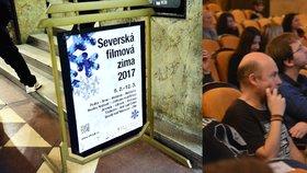 Film o uprchlíkovi odstartoval festival Severská filmová zima. Smích duněl Lucernou