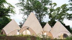 Nejkrásnější domov pro seniory? Kruhové obydlí ze  dřeva a betonu