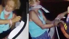 DRSNÉ VIDEO: Unesená žena byla zachráněna z kufru auta při náhodné policejní kontrole