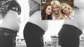 Místo 3v1 jsou teď 3vTOM? Těhotná Štíbrová, Arichteva a Pártlová vytasily své pupíky